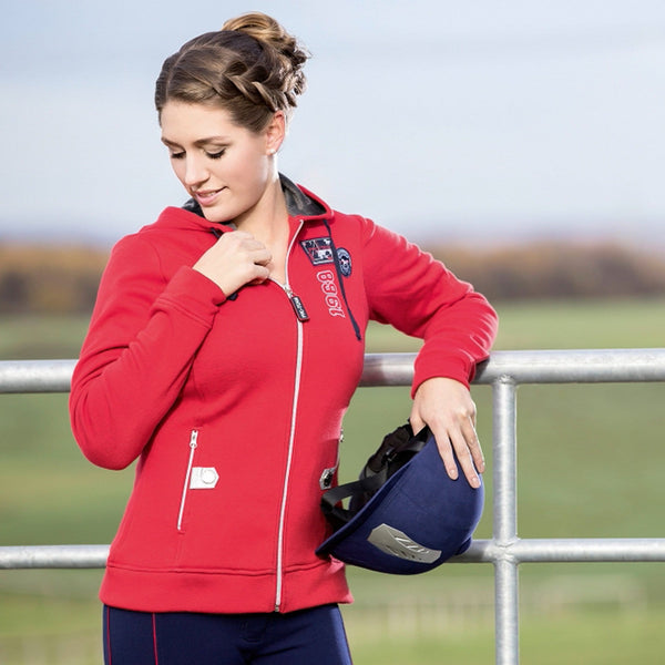 HKM Pro Team Performance Ladies Hooded Riding Top Lifestyle 8747/3000
