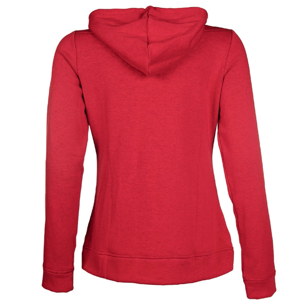 HKM Pro Team Performance Ladies Hooded Riding Top Studio Rear View 8747/3000