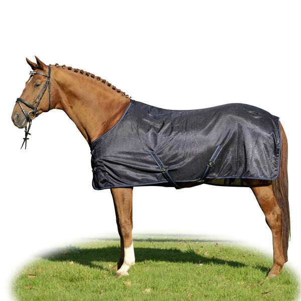 HKM Sao Paulo Fly Rug in Deep Blue 7077