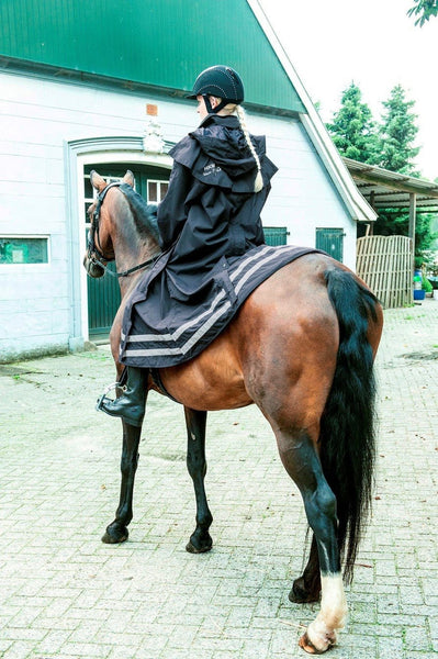 HKM Seattle Rain Coat on Horse 8005