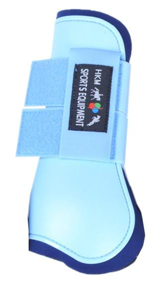 HKM Softopren Tendon Boots in Baby Blue