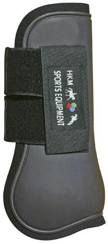 HKM Softopren Tendon Boots in Deep Brown