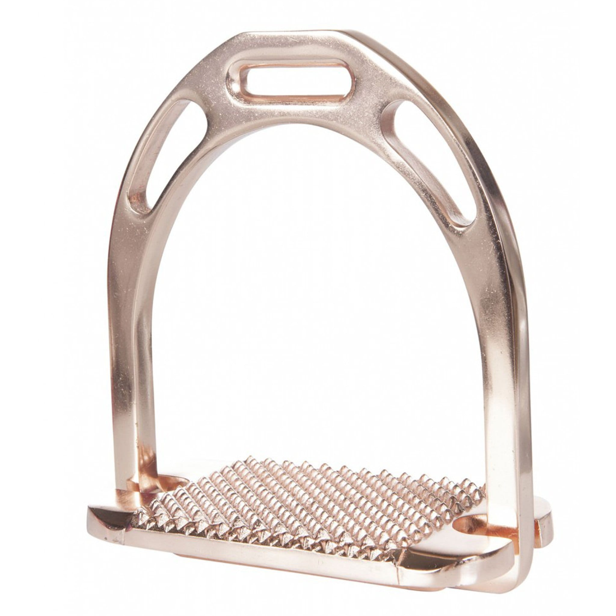 HKM Space Stirrups Rose Gold x2 10819
