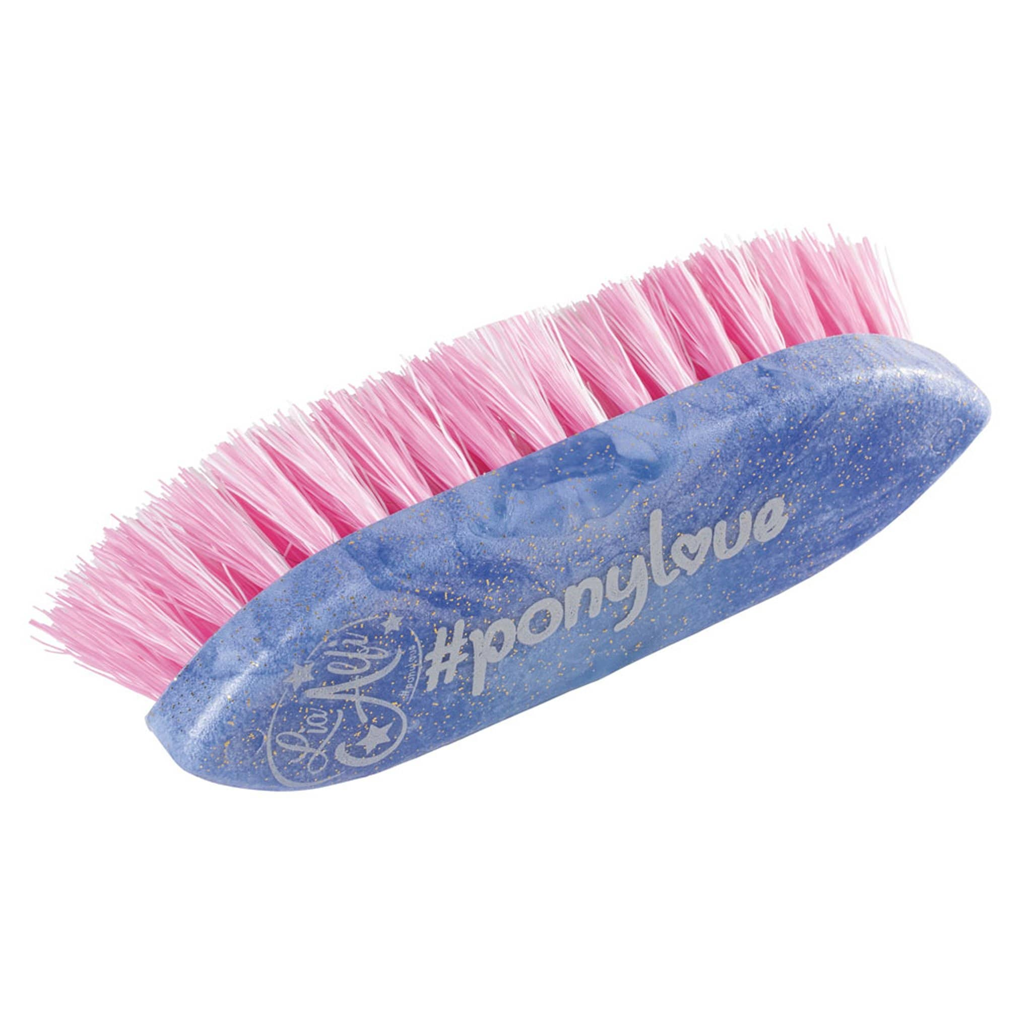 Haas Ponylove Mane Brush Blue and Pink 27748 3cm Bristles