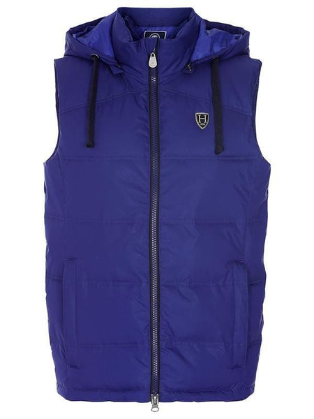 Harcour Kilimandjaro Men's Bodywarmer in Blue Front View