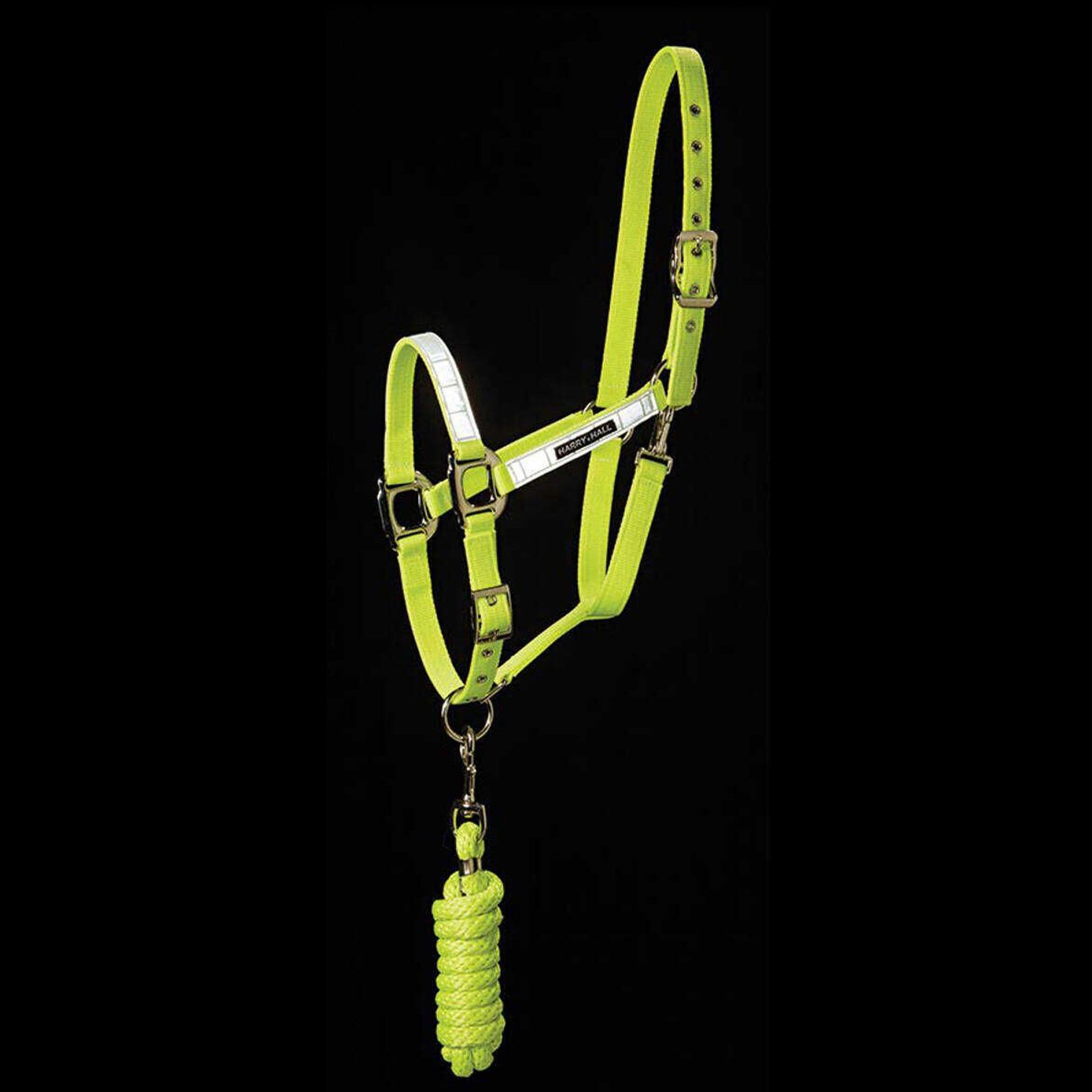 Harry Hall Hi Viz Head Collar and Lead Rope HHL1905