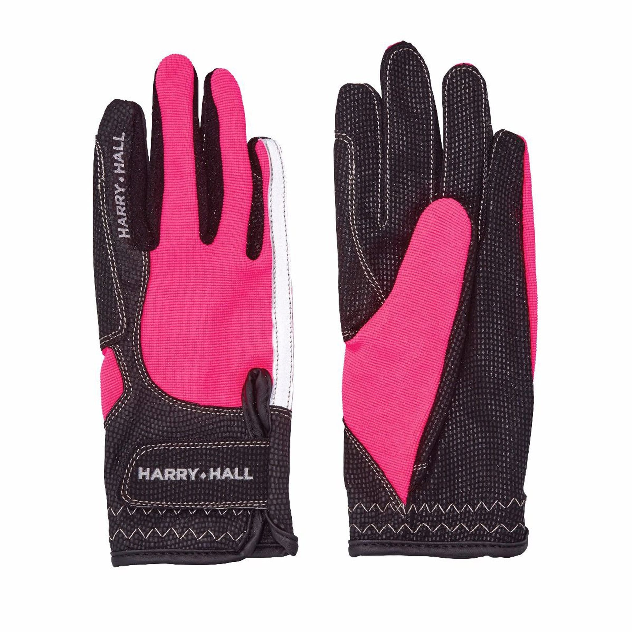 Harry Hall Lockton Gloves Pink HHL1486