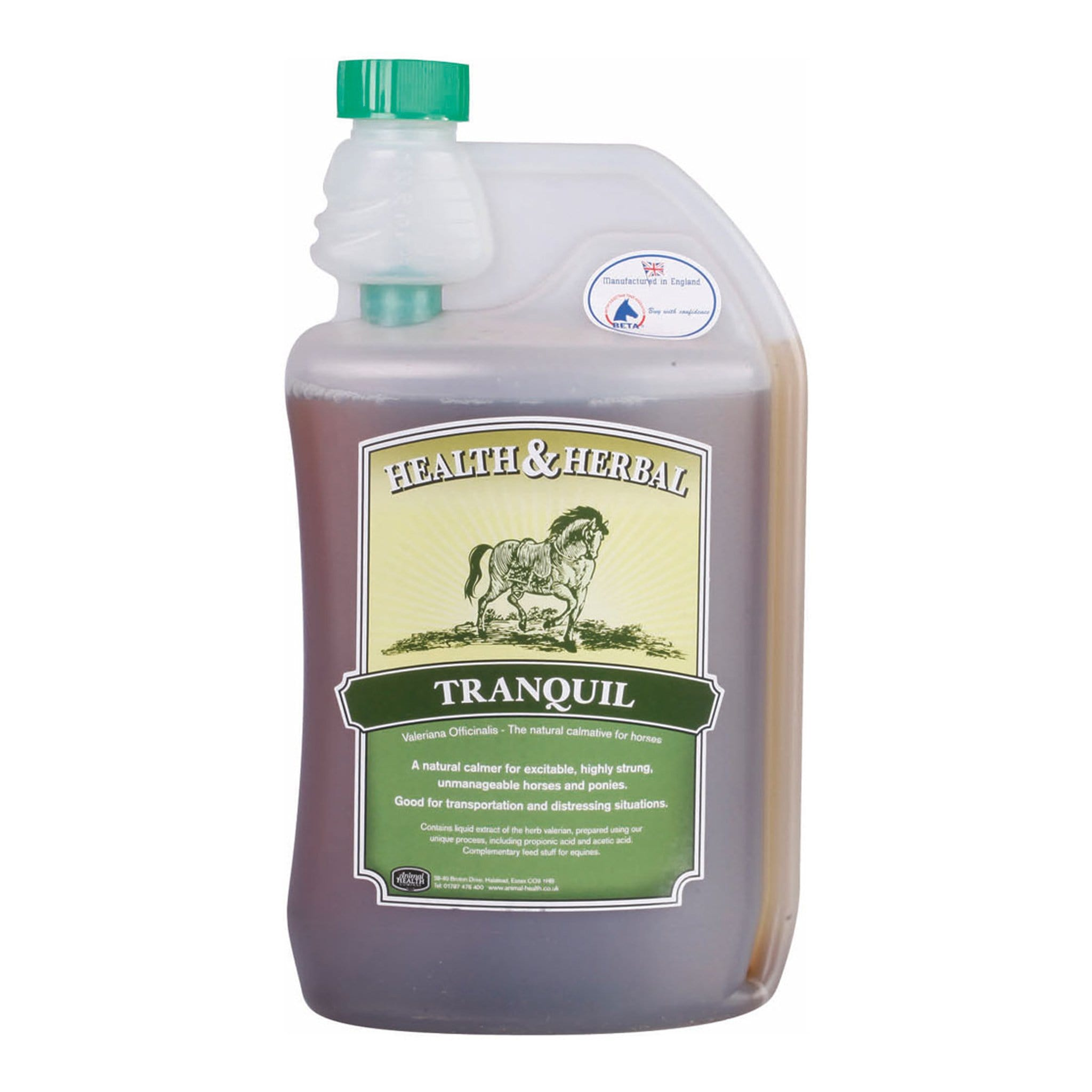 Health And Herbal Tranquil E 1 Litre SPE0039.