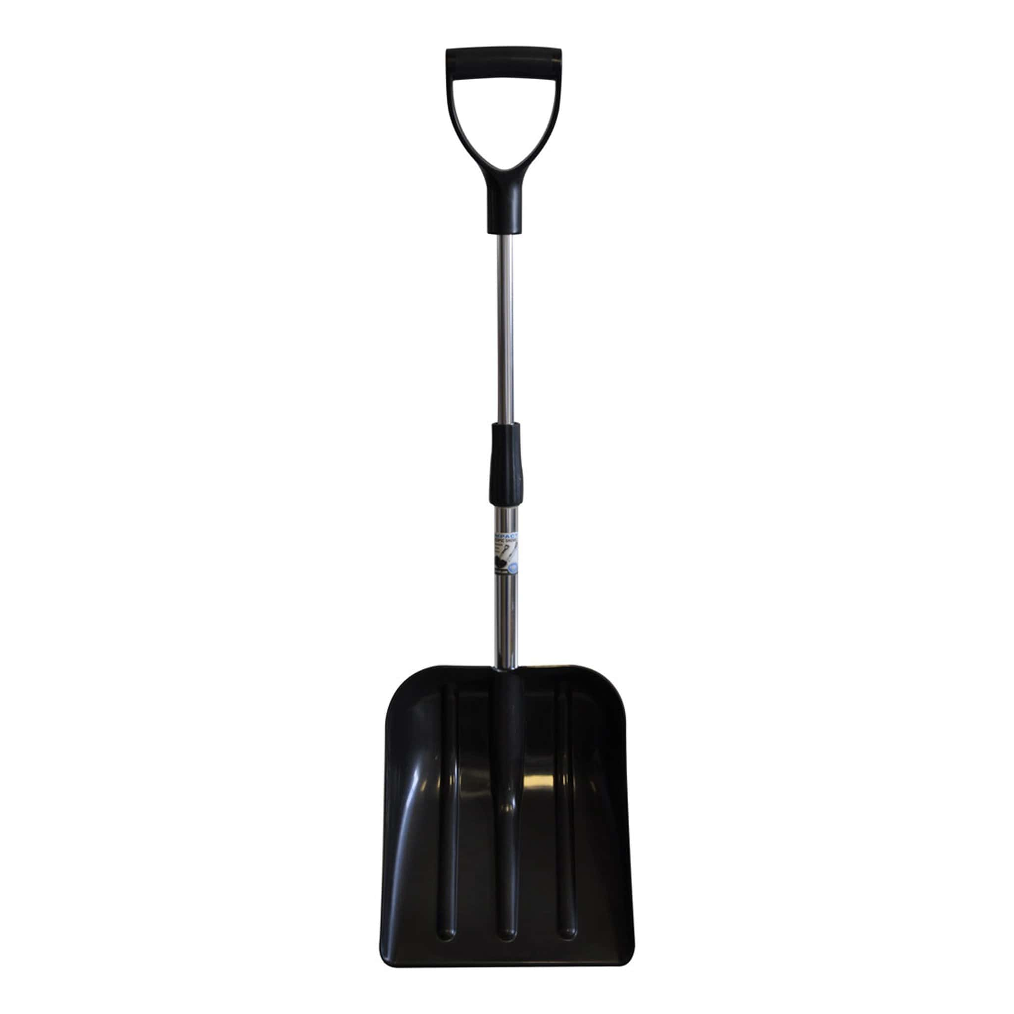 Hillbrush Compact Telescopic Shovel Black