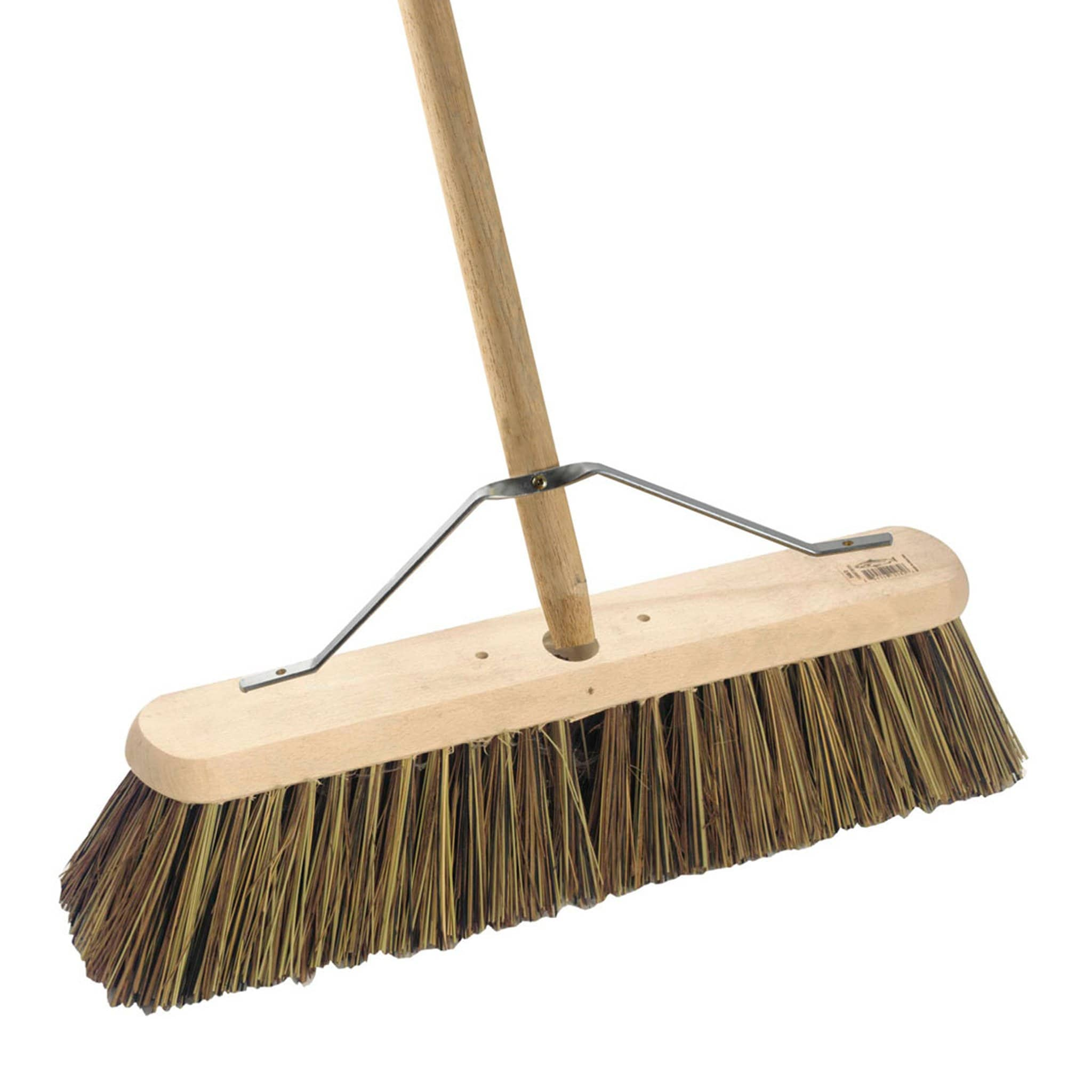 Hillbrush Platform Broom With Handle And Stay