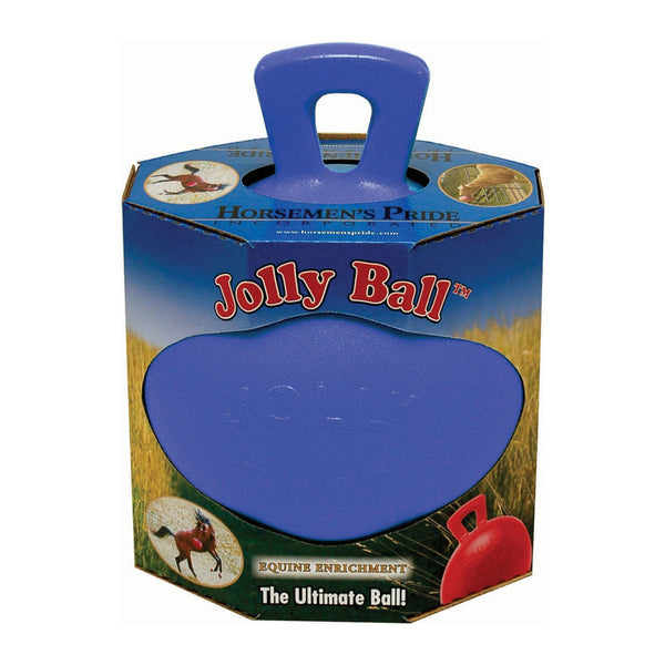 Horsemen's Pride Jolly Ball in Blueberry 7607