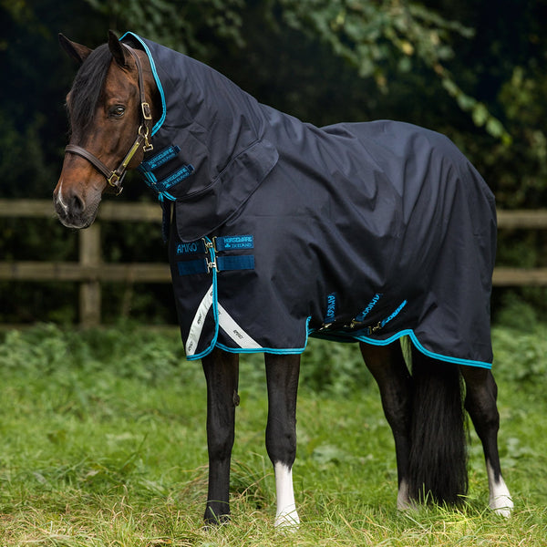Horseware Amigo Bravo 12 All-In-One Heavy 400g Turnout Rug AARE73