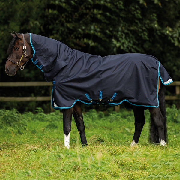 Horseware Amigo Bravo 12 All-In-One Heavy 400g Turnout Rug Side View AARE73