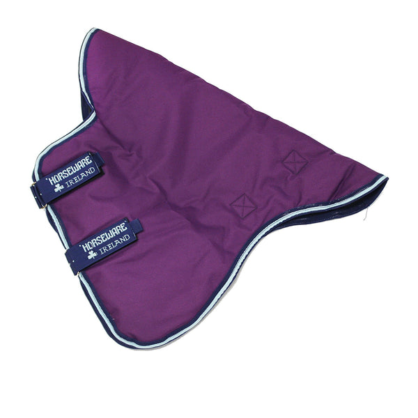 Horseware Amigo Bravo 12 Original 0g Hood Purple with Navy and Aqua trim AARN41