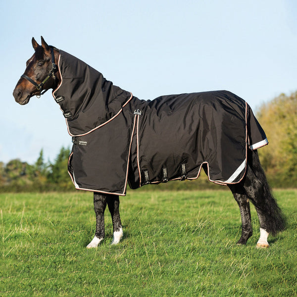 Horseware Rambo Optimo Heavy 400g Turnout Rug Side View AAAF11