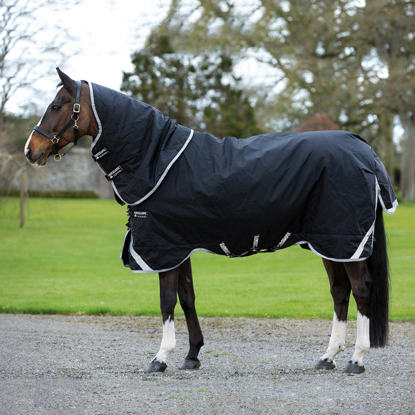Horseware Rambo Supreme 250g Turnout Rug with Vari-Layer Side View AAAX32
