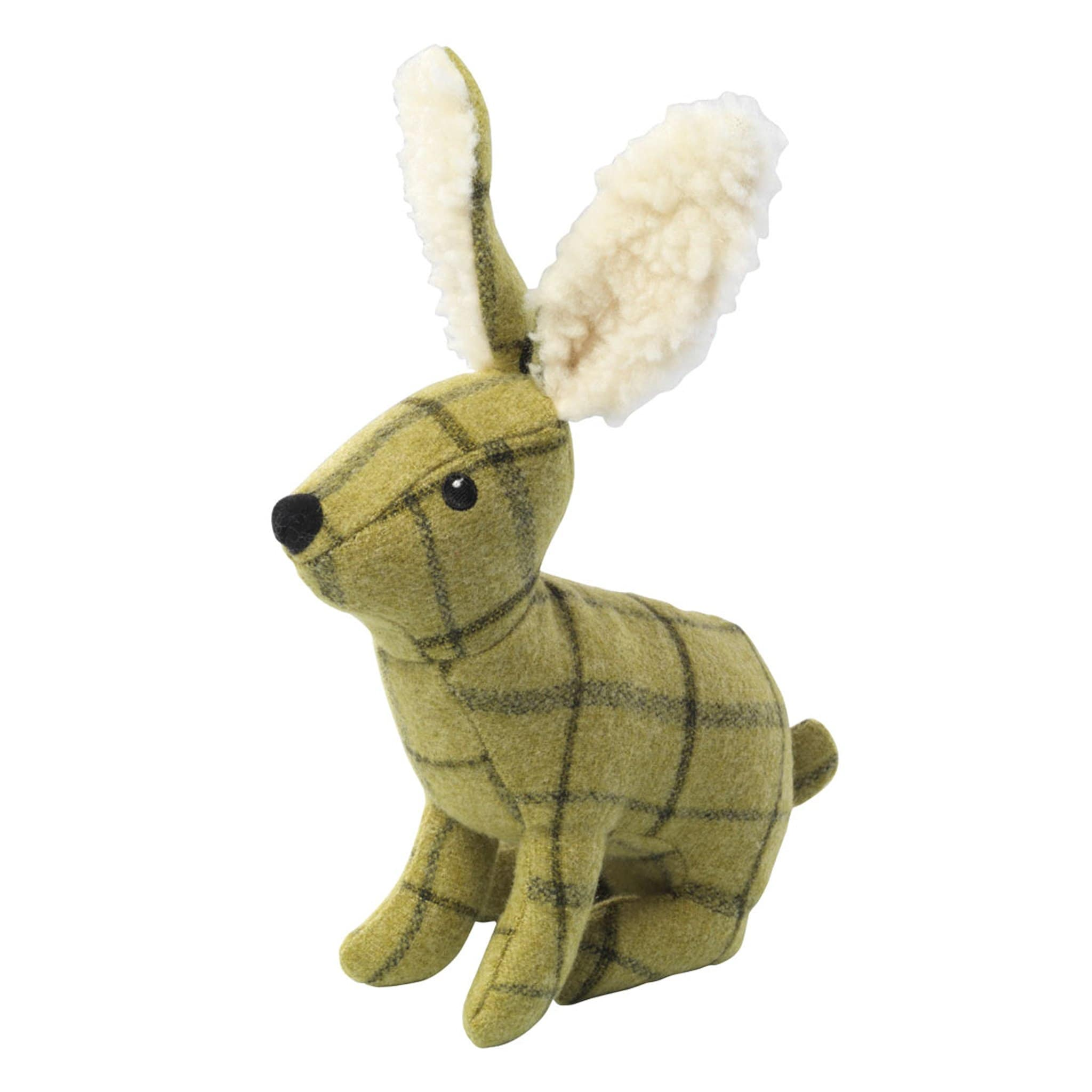 House Of Paws Tweed Plush Dog Toy 27664 Hare