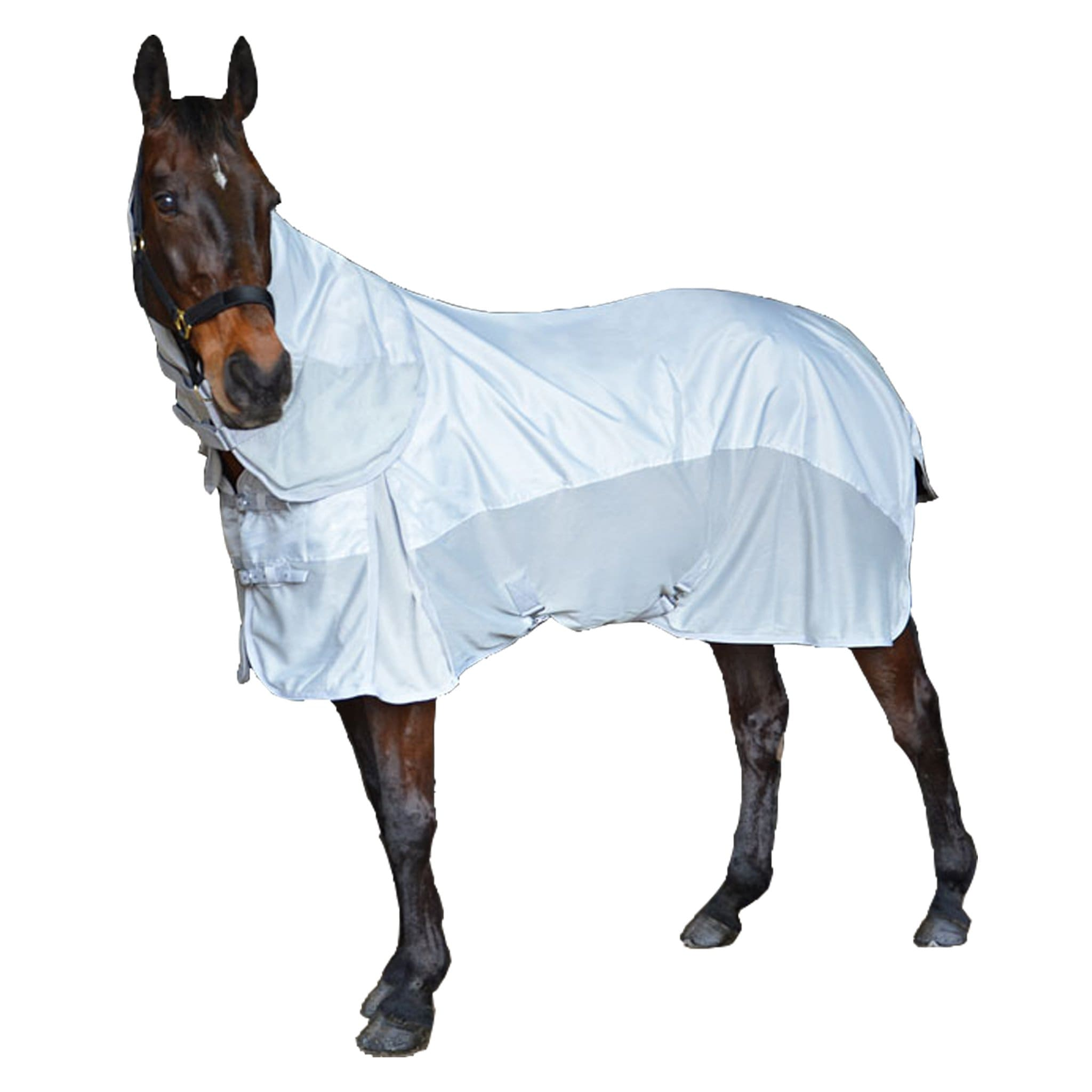 Hy Defence AirFlow Waterproof Combo Fly Rug 23286 Silver and Grey
