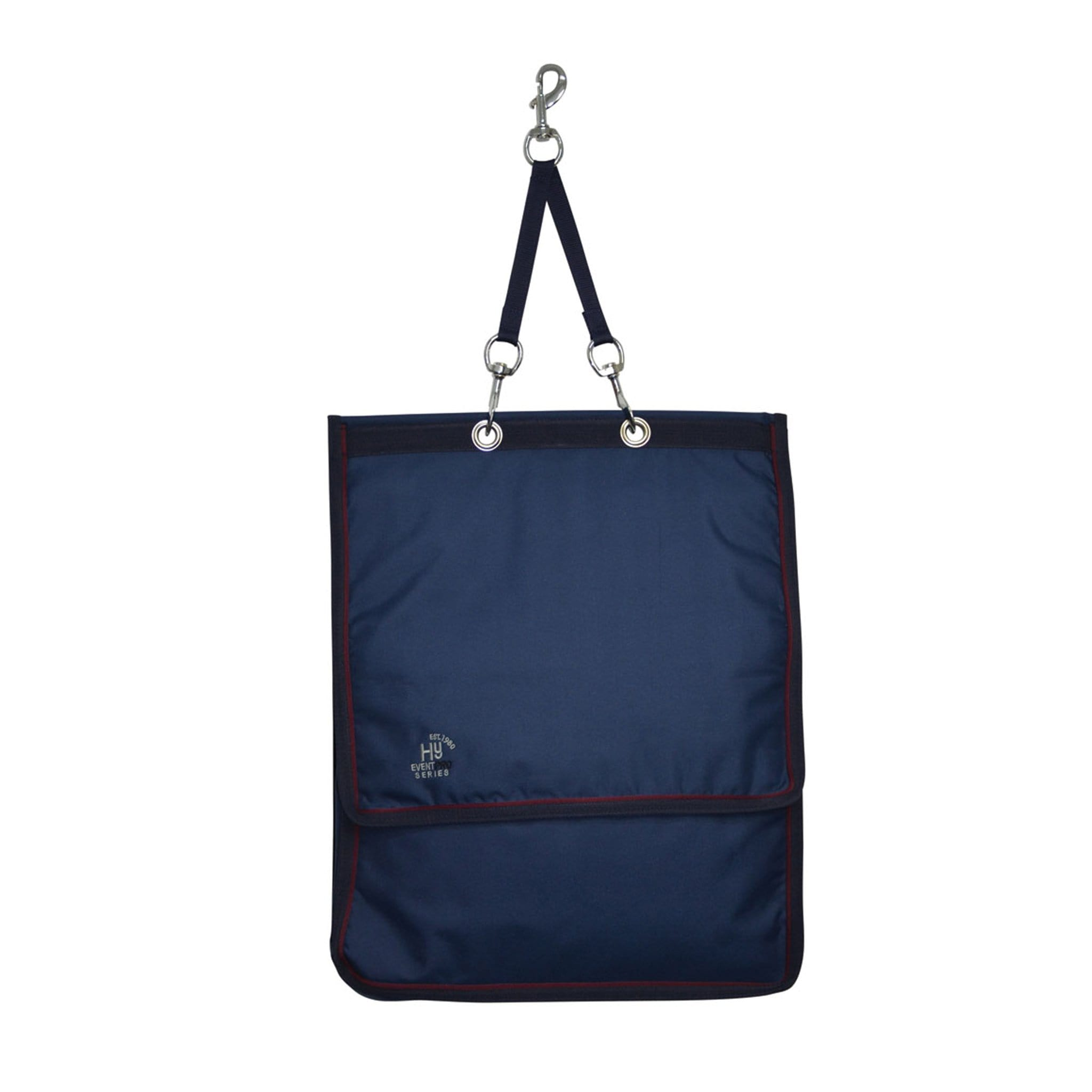 Hy Event Pro Series Show Kit Bag 16869 Navy and Burgundy