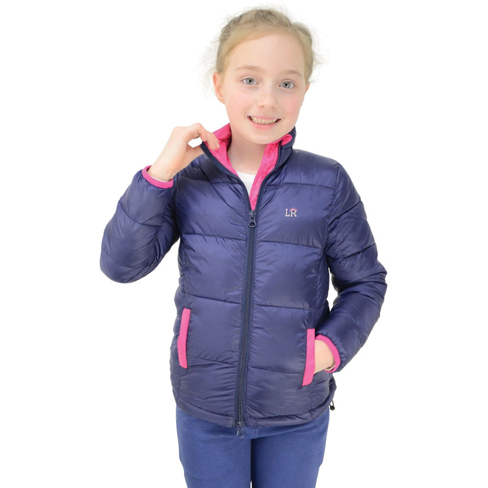 Hy Little Rider Annabelle Padded Jacket Collar 22078.