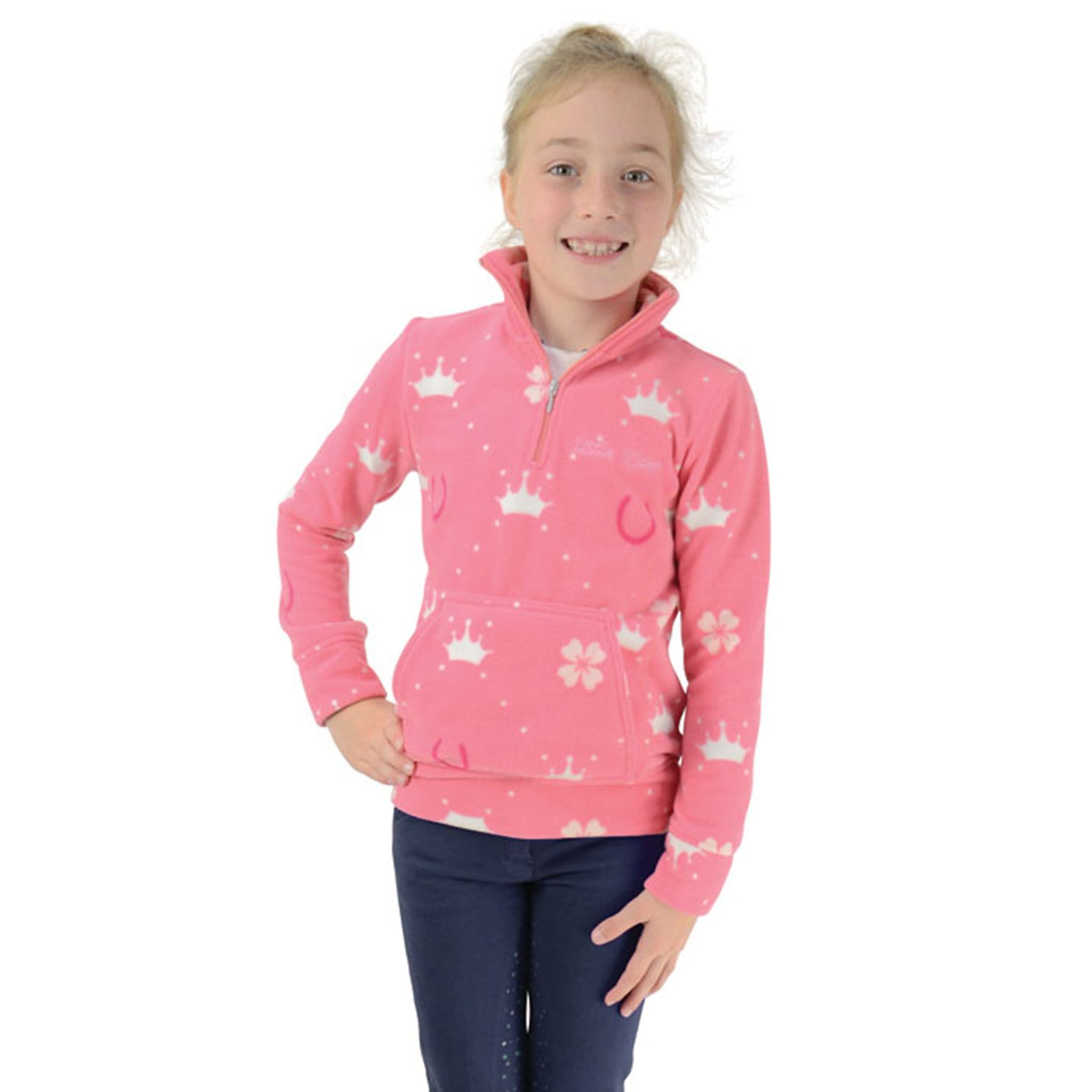 Hy Little Rider Elsa Soft Fleece Front Closer Up 26252.