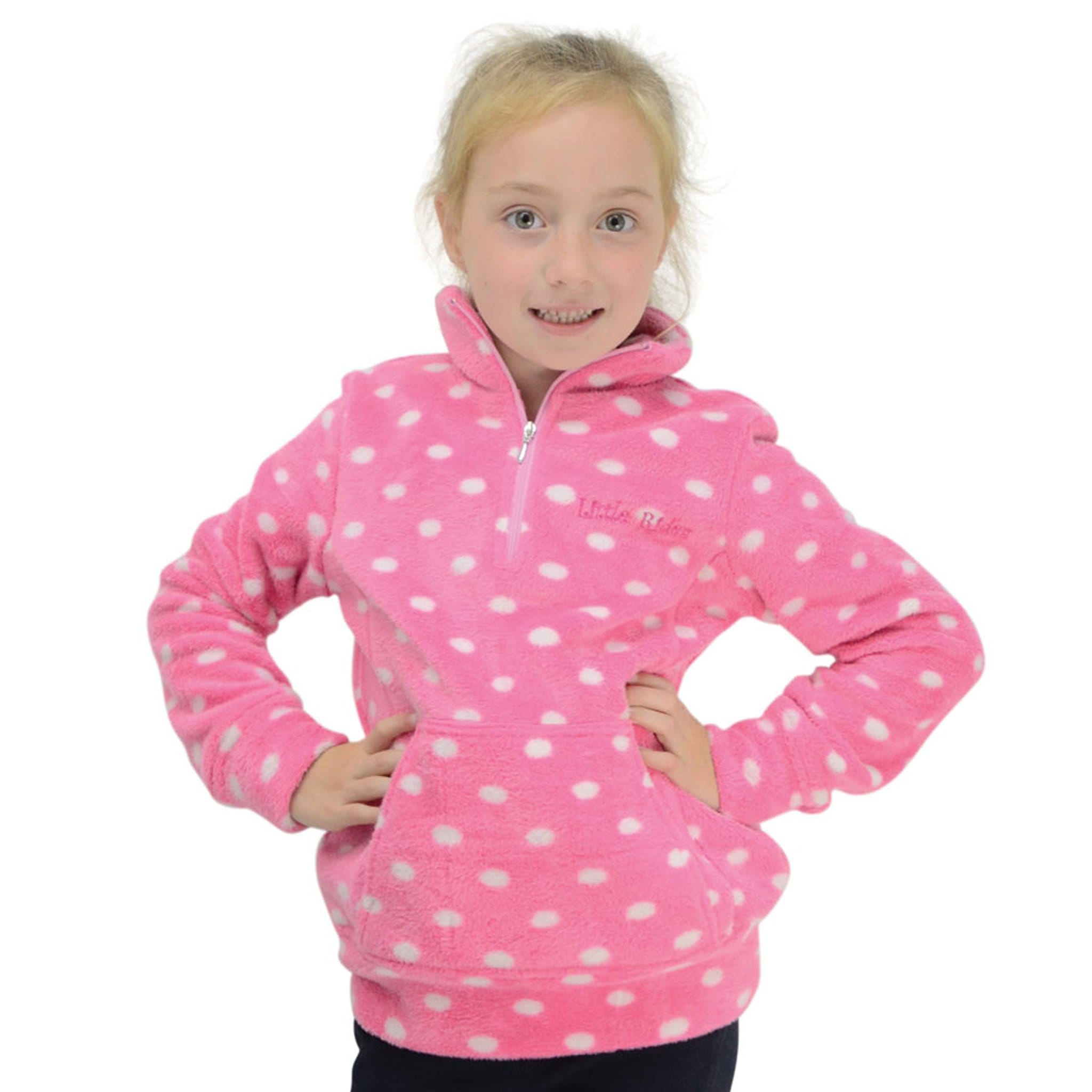 Hy Childrens Little Rider Lily Soft Fleece 15695.