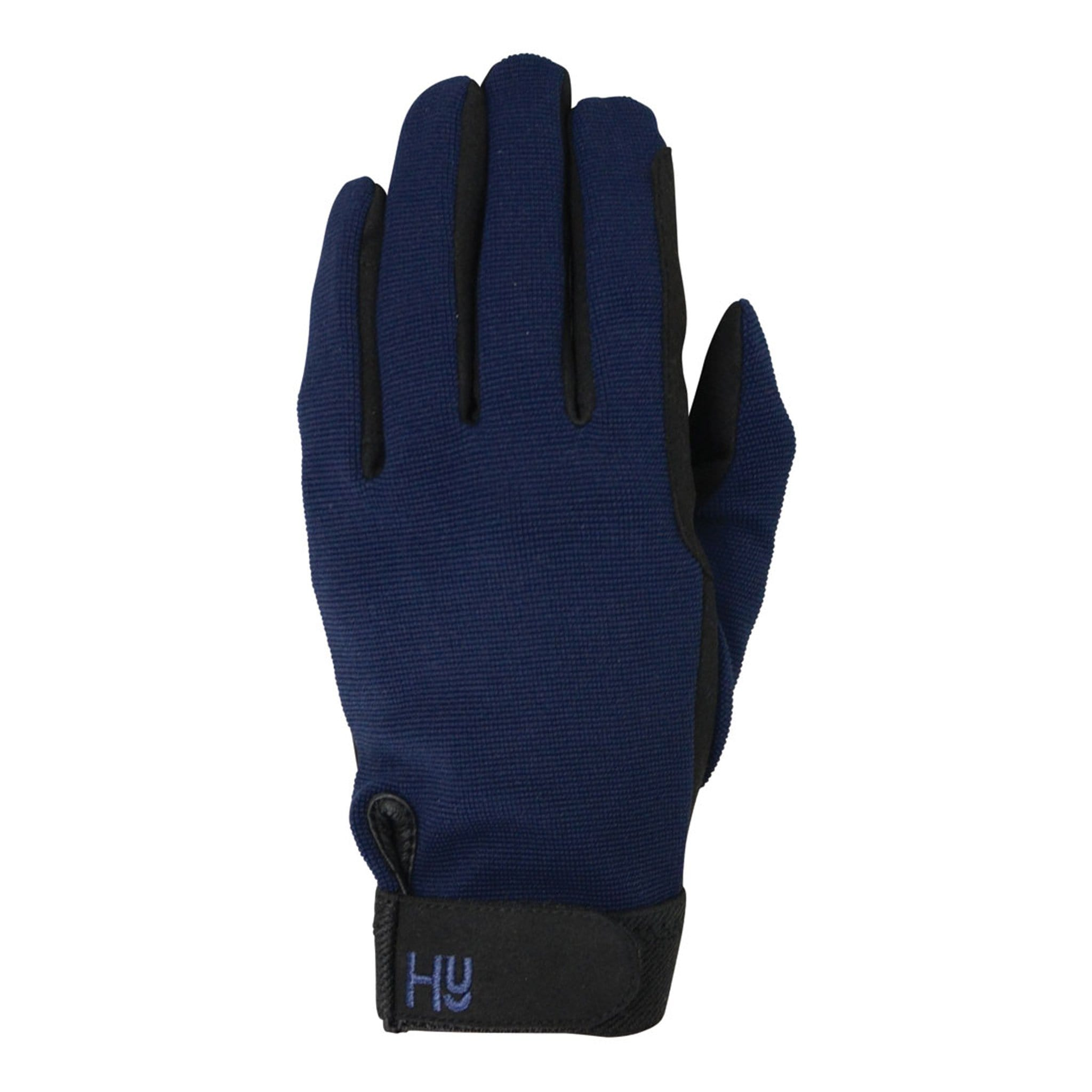 Hy5 Universal Two Toned Riding Gloves Royal Navy 16271.