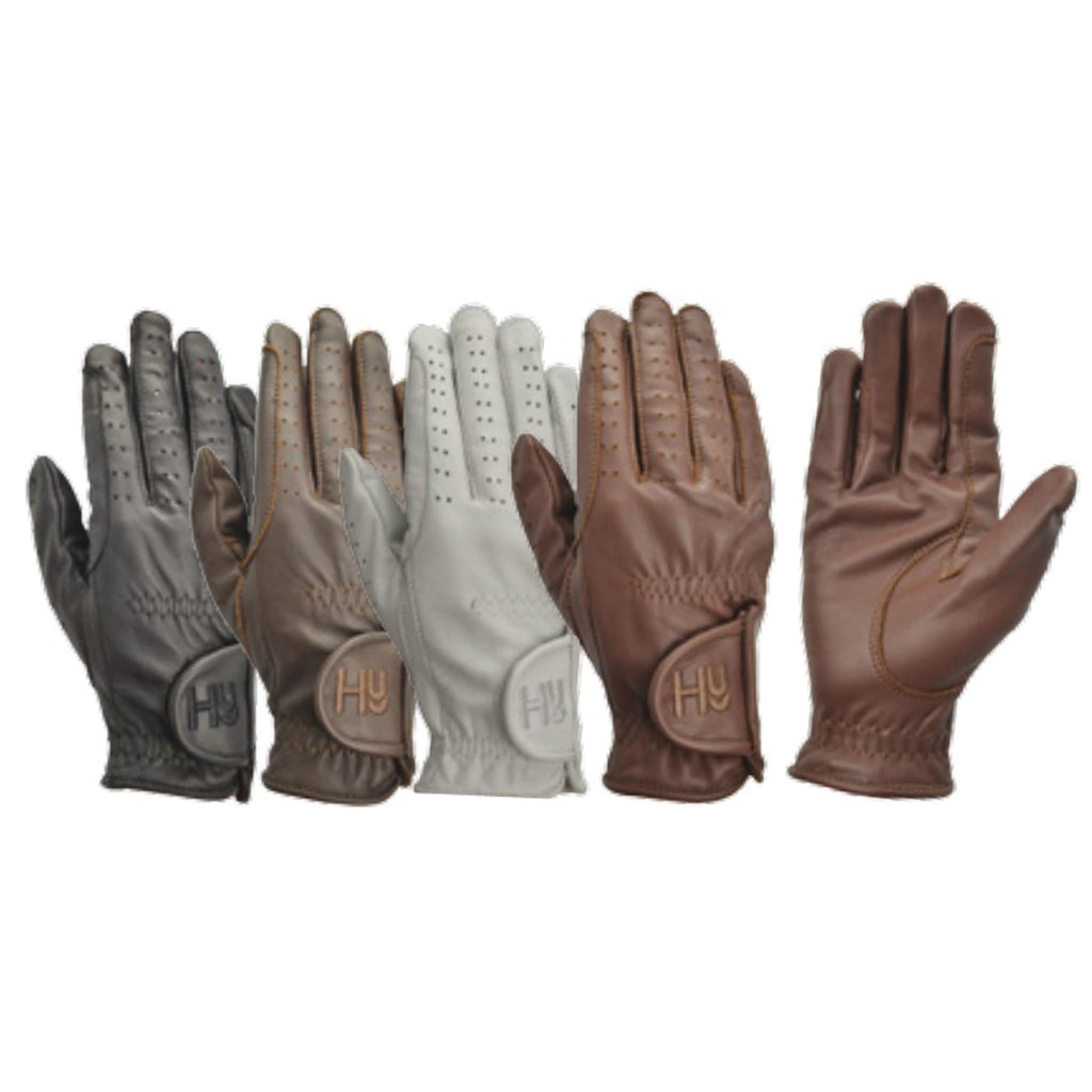 Hy5 Children's Leather Riding Glove 9371
