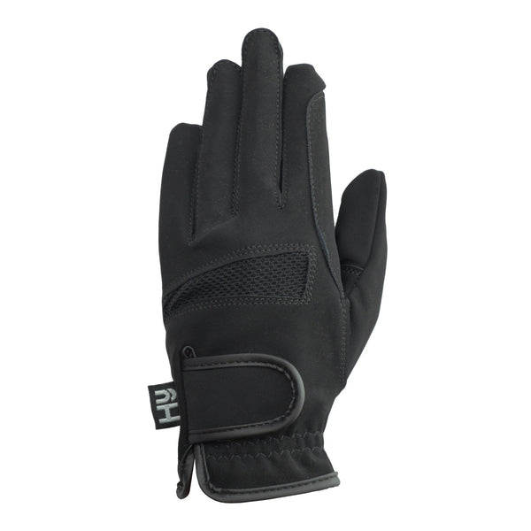 Hy5 Lightweight Competition Gloves Black Back