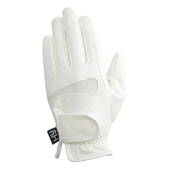 Hy5 Lightweight Competition Gloves White Back