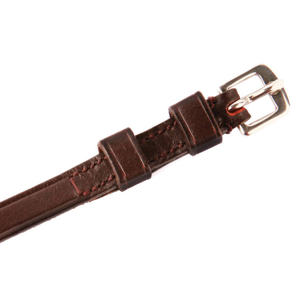 HyCLASS Plain Spur Straps in Brown