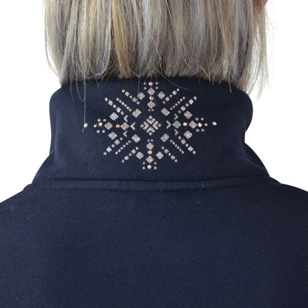 HyFASHION Kensington Fleece Jacket 20845 Neck Starburst Detail
