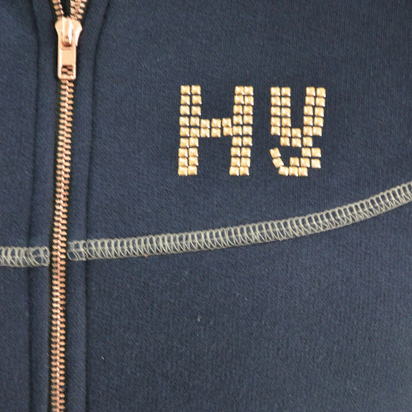HyFASHION Kensington Fleece Jacket 20845 Hy Logo and Zip Detail