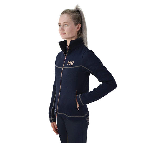 HyFASHION Kensington Fleece Jacket 20845 Navy Side