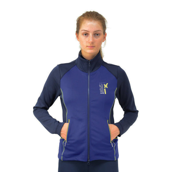 HyFASHION X Sports Jacket 22376 On Model Front Hands In Pockets