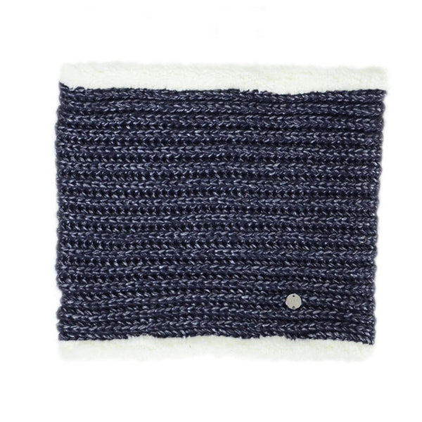 HyFASHION Avoriaz Metallic Snood in Navy 20335