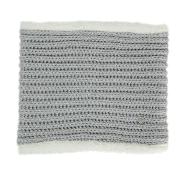 HyFASHION Avoriaz Metallic Snood in Silver 20334