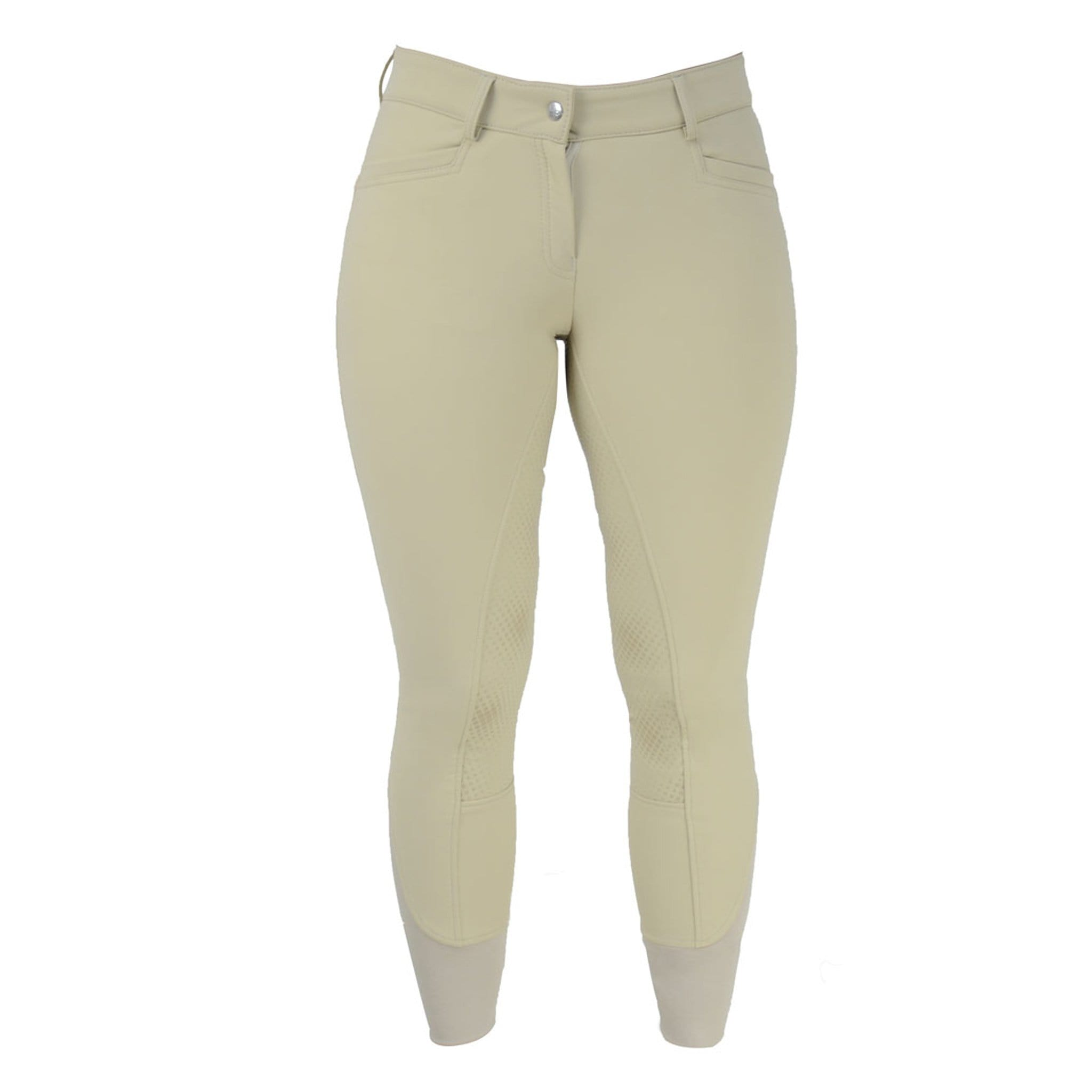 HyPerformance Arctic Softshell Silicone Full Seat Breeches 19560 Beige Front