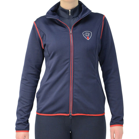 HyRIDER Signature Jacket Navy Front 14007
