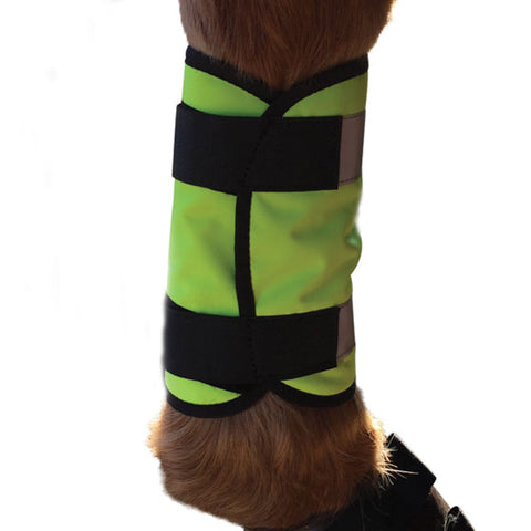 HyVIZ Reflector Horse Leg Wraps Outside Leg 13135