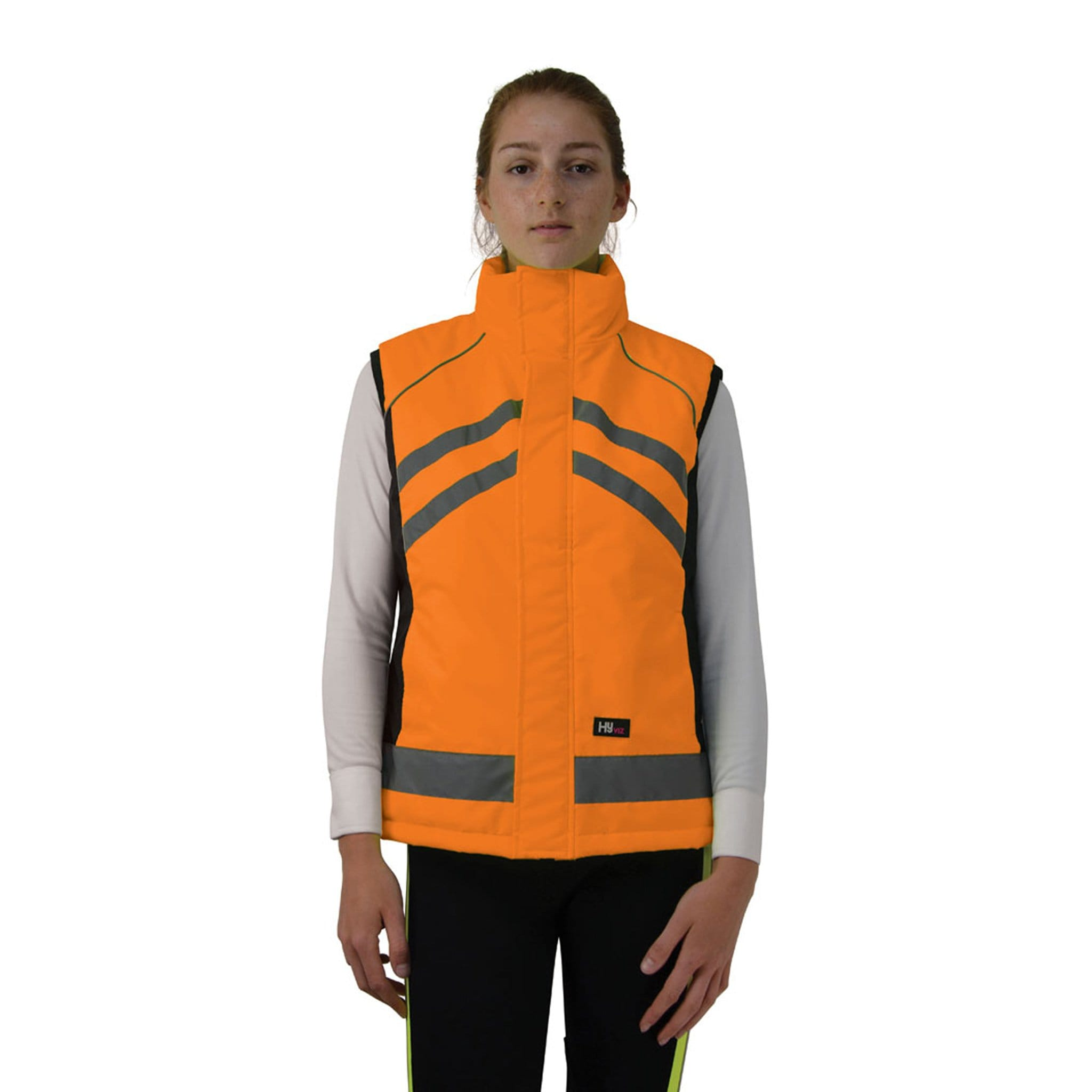 HyVIZ Padded Gilet Orange 22905 Front View