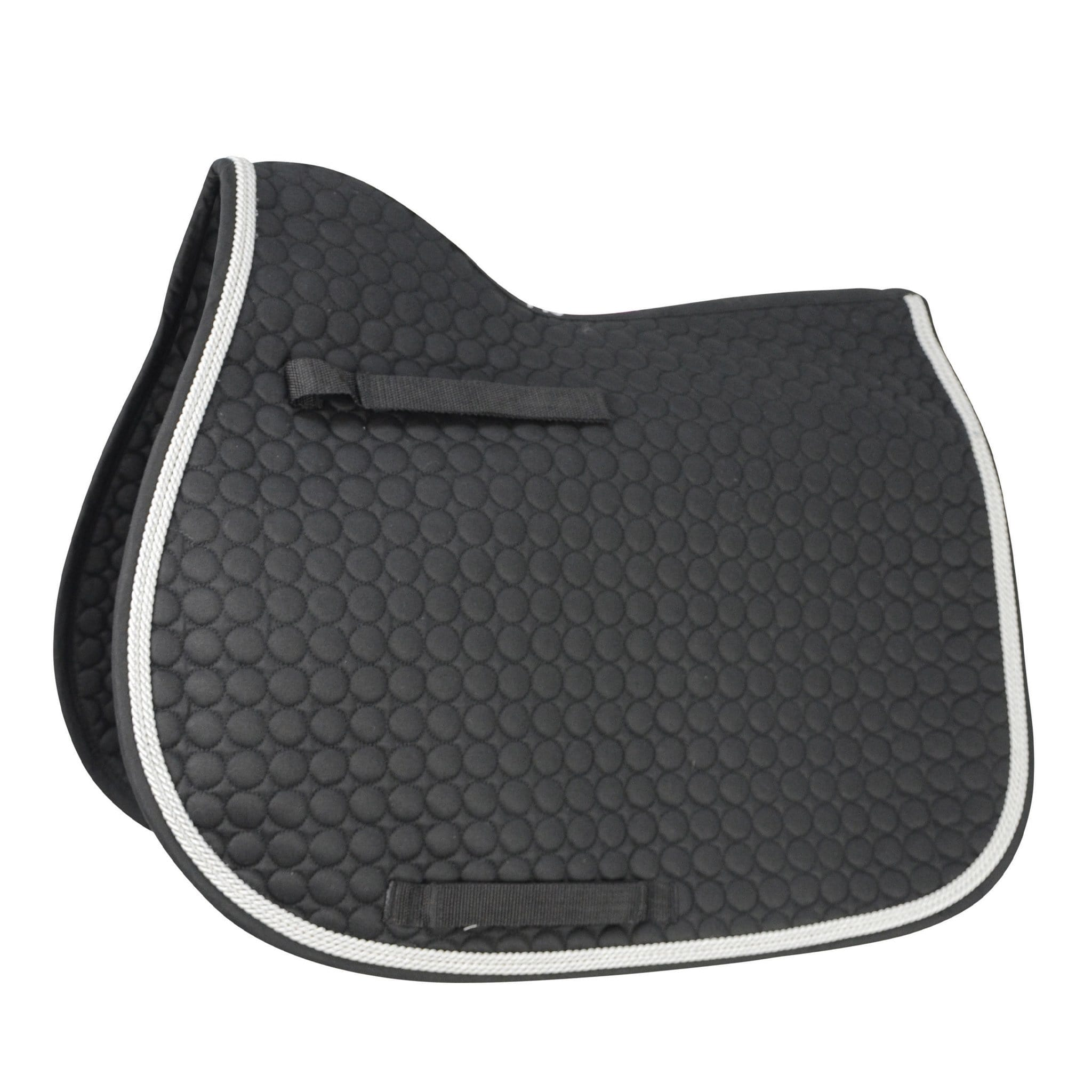 HyWITHER Double Braid Saddle Pad Black 10906