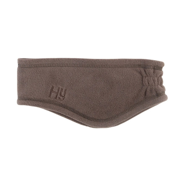 Hy Fleece Head Band - Chocolate | EQUUS