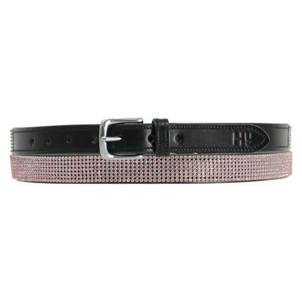 Hy Sparkle Leather Belt - XS (70cm) / Pink | EQUUS