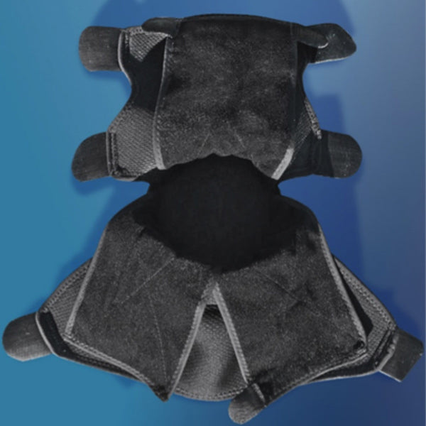 IceHorse Big Black Boot Inner View without Ice Packs 12207