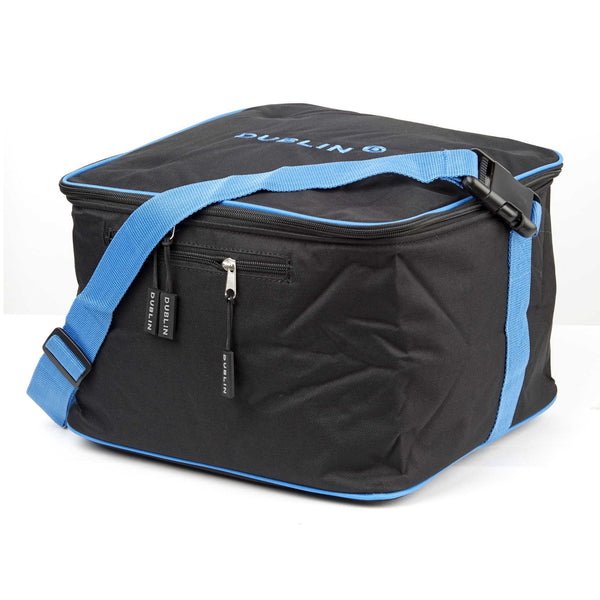 Dublin Imperial Hat Bag Red 593691 Black and Blue