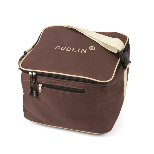 Dublin Imperial Hat Bag 576258 Chocolate and Cream
