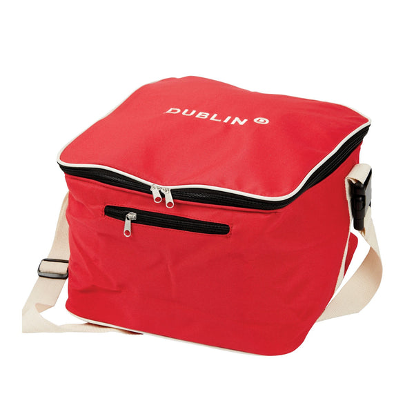 Dublin Imperial Hat Bag Red 593699 Red and Cream