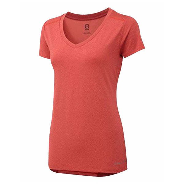 Noble Outfitters Karleigh Short Sleeve Riding Top in Coral 22501