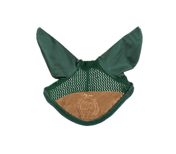 HKM Lauria Garrelli Champagne Ear Bonnet in Deep Green